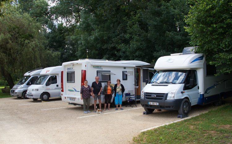 Les meilleures aires de camping-car en Bourgogne